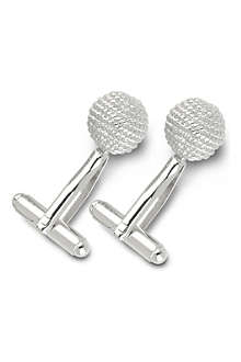 SIMON CARTER Rope ball cufflinks