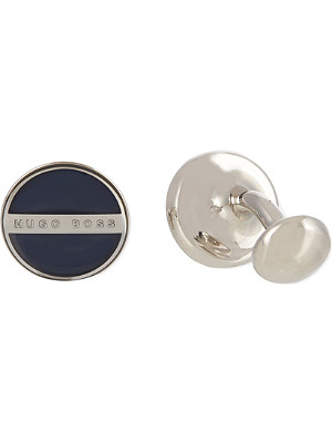 HUGO BOSS Norberto logo cufflinks