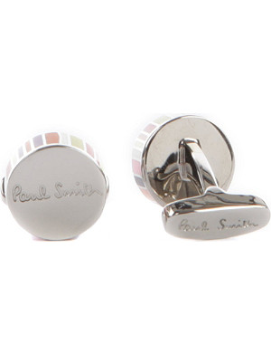 PAUL SMITH Multi-stripe cufflinks