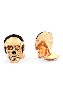 PAUL SMITH Skull with sunglasses cufflinks