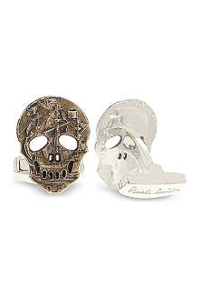 PAUL SMITH ACCESSORIES Coin skull cufflinks