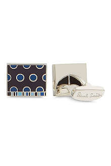 PAUL SMITH Spots and stripes cufflinks
