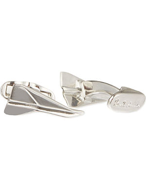 PAUL SMITH ACCESSORIES Paper aeroplane cufflinks