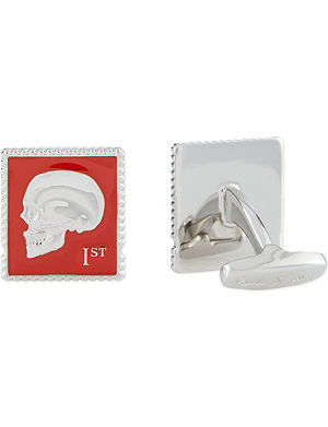 PAUL SMITH ACCESSORIES Skull stamp cufflinks