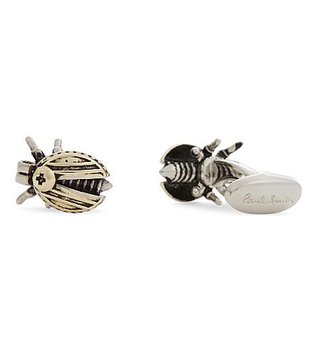 PAUL SMITH Beetle cufflinks (Silver