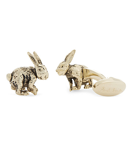 PAUL SMITH Rabbit cufflinks (Silver