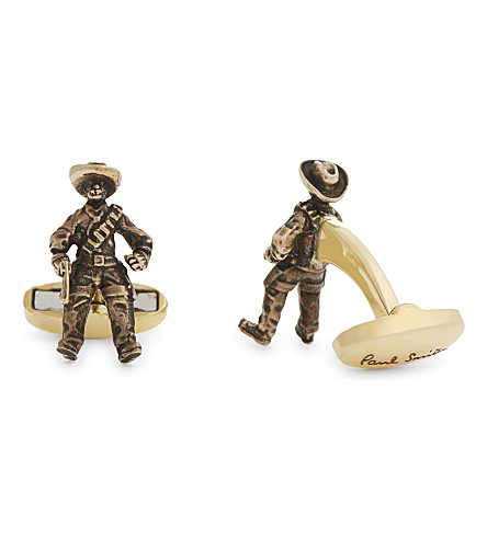 PAUL SMITH Cowboy cufflinks (Silver