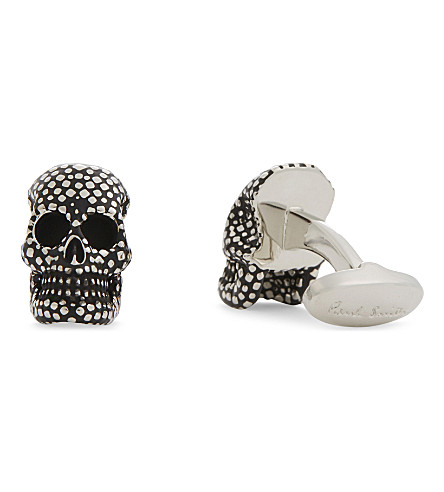 PAUL SMITH Skull cufflinks (Silver
