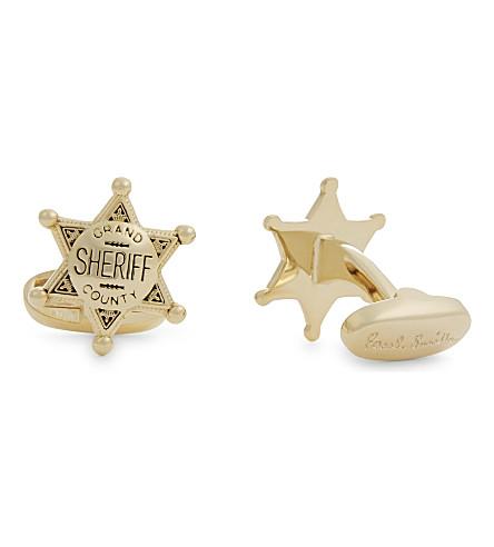 PAUL SMITH Sheriff cufflinks (Silver