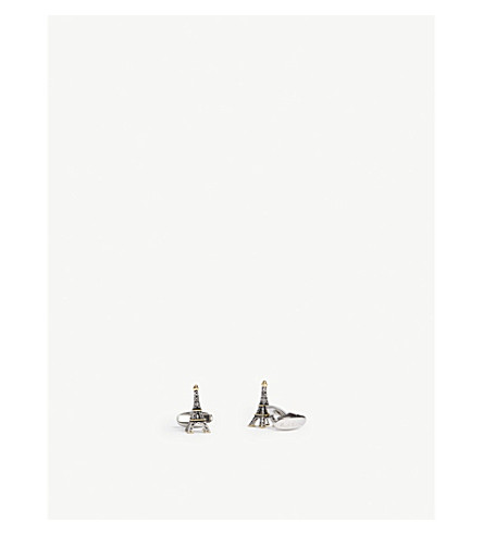 PAUL SMITH Eiffel Tower cufflinks (Copper