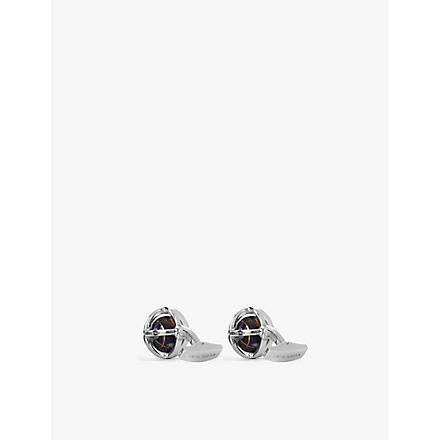 TATEOSSIAN Globe cufflinks (Multi