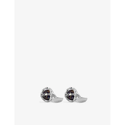 TATEOSSIAN Globe cufflinks (Multi