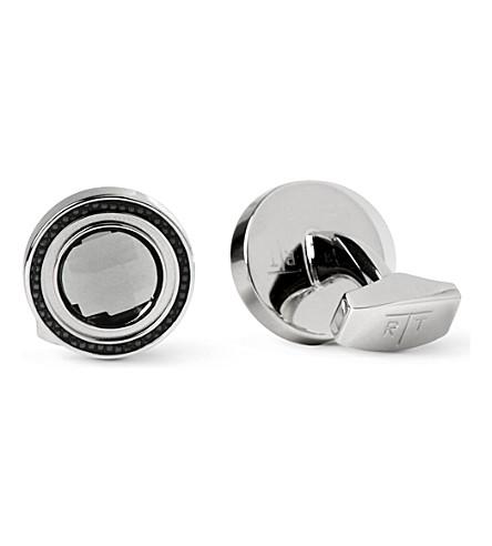 TATEOSSIAN Gem Round cufflinks (Silver
