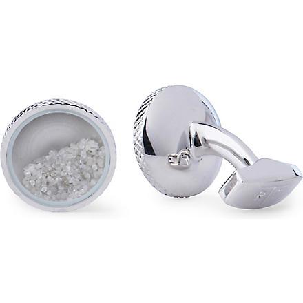 TATEOSSIAN Diamond Dust cufflinks (Silver