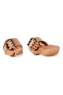 TATEOSSIAN Round knot cufflinks