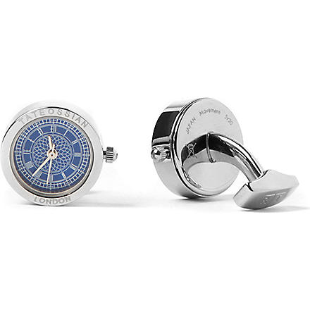 TATEOSSIAN Big Ben cufflinks (Blue