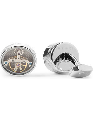 TATEOSSIAN Tourbillion mechanical cufflinks
