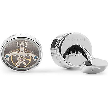TATEOSSIAN Tourbillion mechanical cufflinks (Silver
