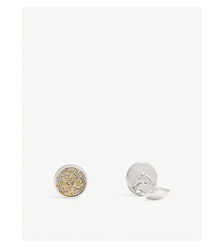 TATEOSSIAN Industrial Watch sterling silver cufflinks (Silver