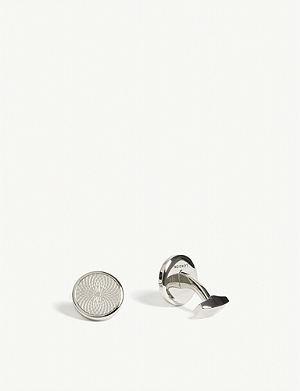 TATEOSSIAN Spirograph cufflinks