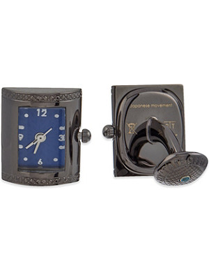 TATEOSSIAN Vintage clock cufflinks