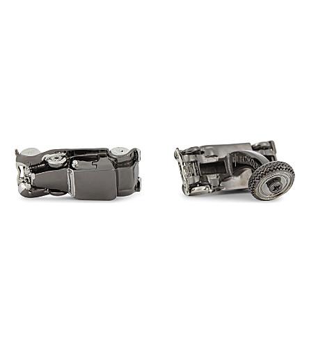 TATEOSSIAN Car cufflinks (Gunmetal