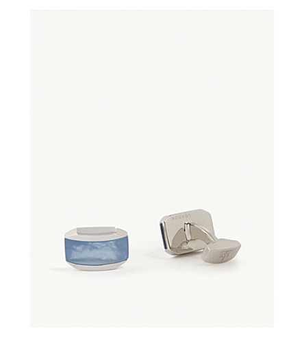 TATEOSSIAN Quartz cufflinks (Blue