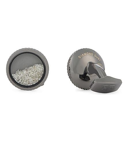 TATEOSSIAN 金刚石粉尘袖扣 (青铜