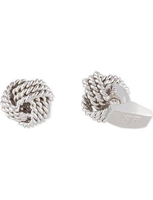 TATEOSSIAN Knot cufflink set