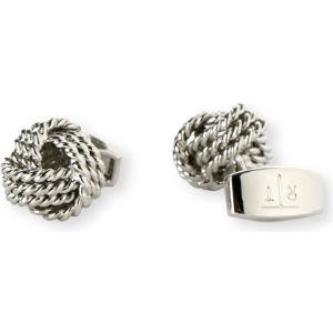 Round knot cufflinks