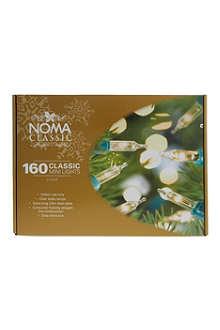 NOMA LITES 160 classic clear mini lights