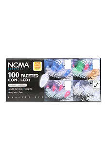 NOMA LITES 100 faceted cone White LED lights
