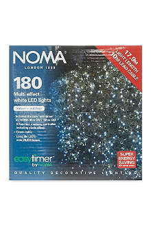 NOMA LITES 180 LED white lights 14m