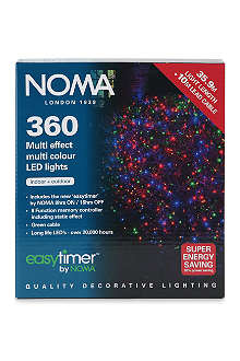 NOMA LITES 360 Multi Effect decorative LED lights 28m