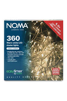 NOMA LITES 360 Multi-Effect warm white LED lights