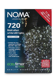 NOMA LITES 720 Multi-Effect white LED lights