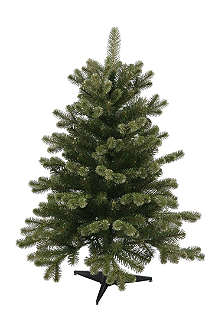 NOMA LITES Gold spruce Christmas tree 3ft