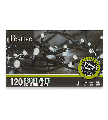 INDOOR LIGHTS Bright white LED lights 120