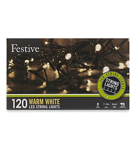 INDOOR LIGHTS Warm white LED lights 120