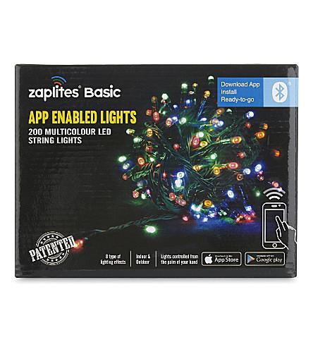 INDOOR LIGHTS App-enabled multi-coloured LED lights 200