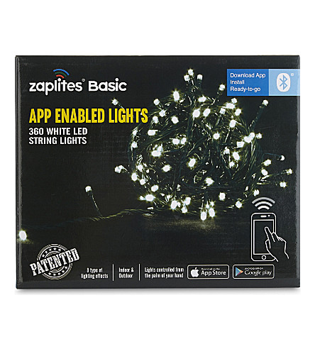 INDOOR LIGHTS App-enabled white LED lights 360