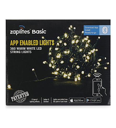 INDOOR LIGHTS App-enabled warm white LED lights 360
