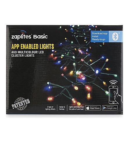 INDOOR LIGHTS App-enabled multi-coloured LED lights 480