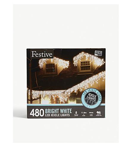 CHRISTMAS 480 LED snowing icicle lights