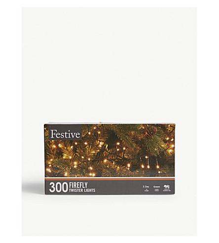 圣诞节300萤火虫龙卷风灯