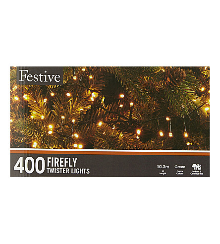 CHRISTMAS 400 firefly twister lights