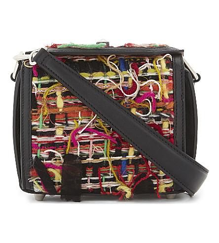 ALEXANDER MCQUEEN Leather Box Bag 19 cross-body bag (Black