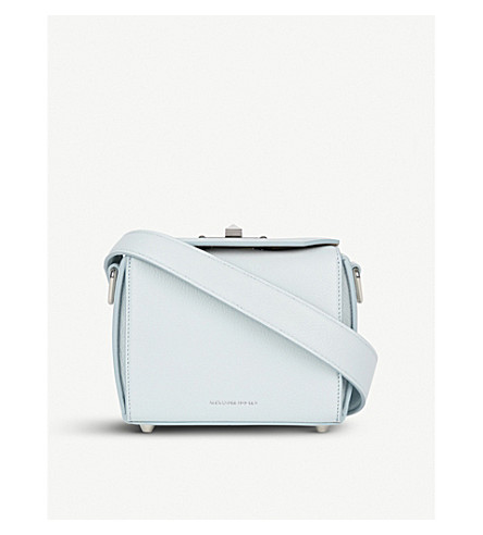 ALEXANDER MCQUEEN Box Bag leather cross-body bag (Duck