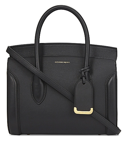 ALEXANDER MCQUEEN New Heroine leather shoulder bag (Black