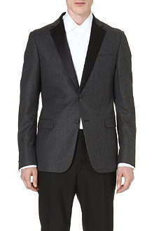 Z ZEGNA Satin-lapel wool jacket